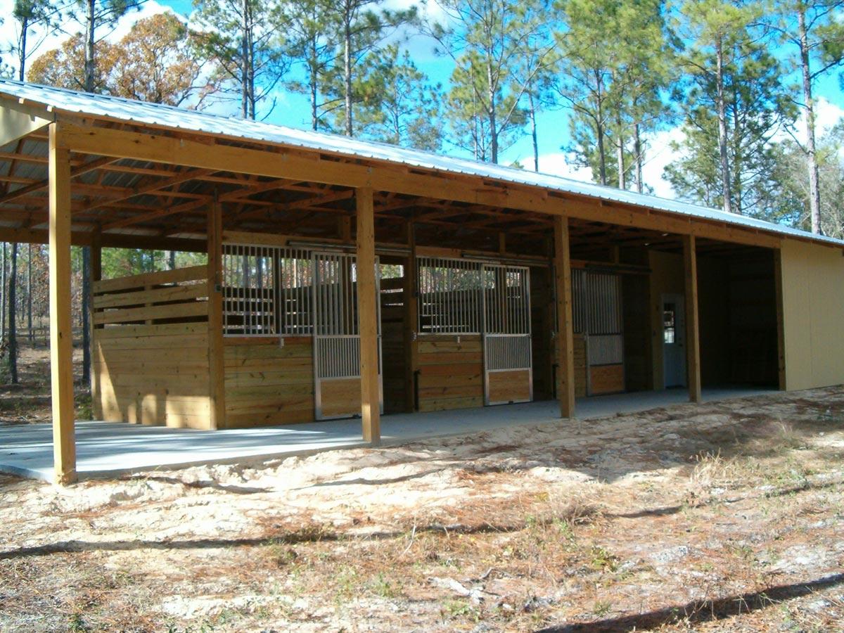 Small horse barn joy studio design gallery best design for Horse barn blueprints